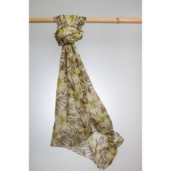 Cotton Printed Pareo 100% Cotton 105x180 cm Senfgelb Gelb