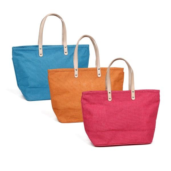 Fenner-Fashion Shopper Handtasche Umhängetasche Damenhandtasche Stoffhandtasche Florenz