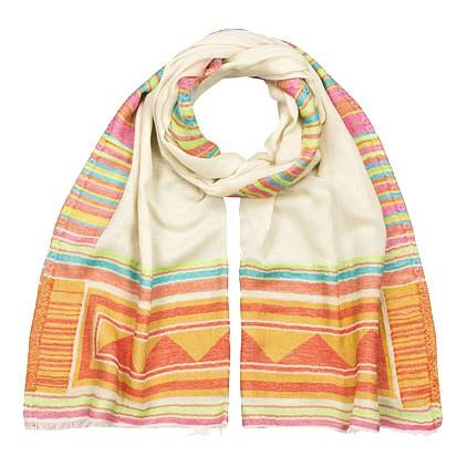 Schal bedruckt 100% Baumwolle 70 x 180 cm