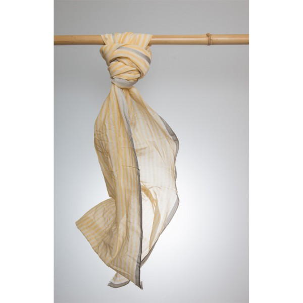 Cottonschal 93% Cotton/7% Silk 70X180 cm
