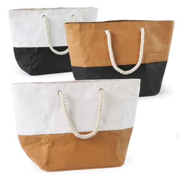 Shopper Strandtasche mit Seilhenkeln Amrum
