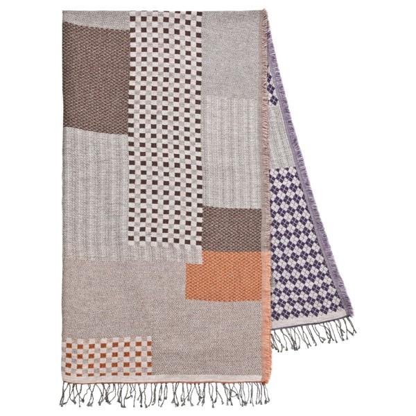 Ponchoschal 62%Cotton/22%Wolle/16% Acrylic 90 x 180 cm