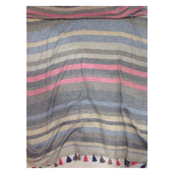 Schal unisex 65% Cotton / 35% Modal 118 x 105 cm