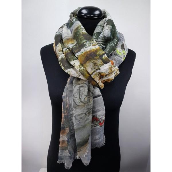 Schal Digitalprint 65% Cotton / 35% Modal 100 x 180 cm