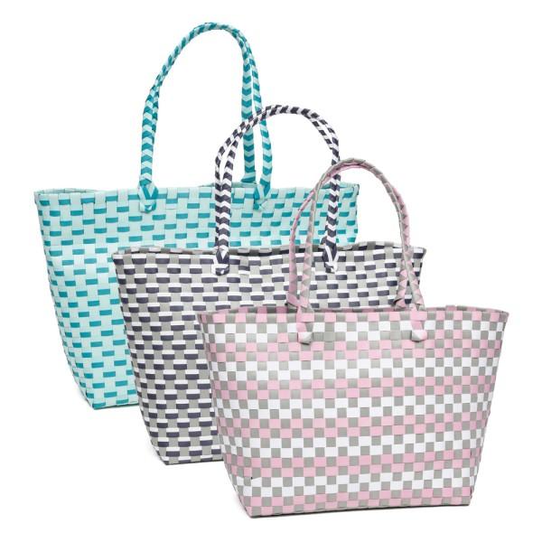 Fenner-Fashion Shopper Handtasche Umhängetasche Damenhandtasche StrandtascheCannes II