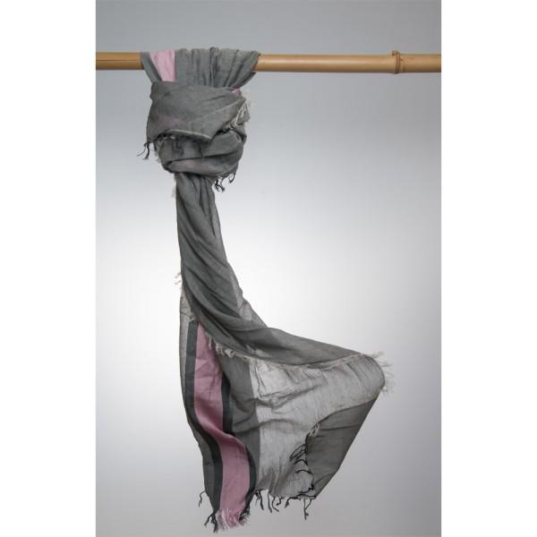 Cottonschal 81% Cotton/19% Modal 70X180 cm