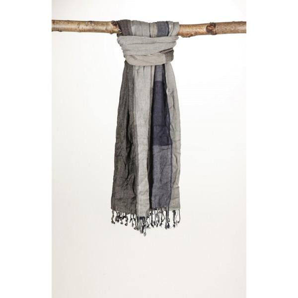 Schal aus gefärbtem Garn 100% Viskose 60X180 cm