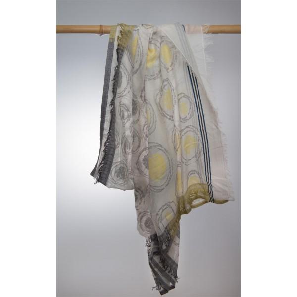 Cottonschal 100% Cotton 100X180 cm