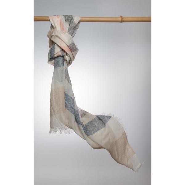 Cottonschal 62% Cotton/38% Modal 100X180 cm