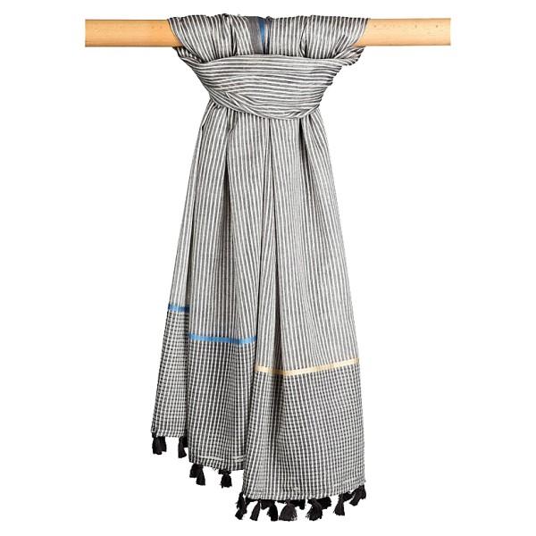 Cottonschal 70% Cotton / 30% Modal 100 x 180 cm