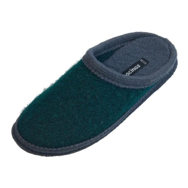 Bacinas Hausschuh Pantoffeln mit Farbakzent