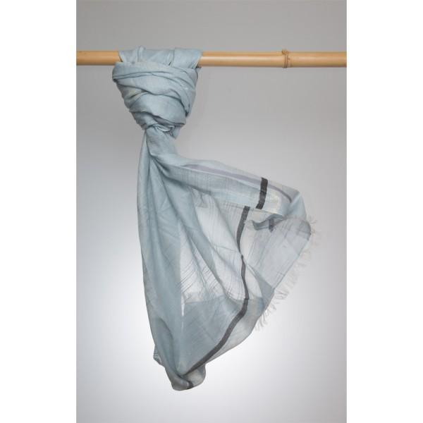 Cottonschal Cotton/Lurex 100X180 cm