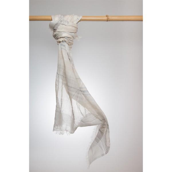 Cottonschal 92% Cotton/ 8% Lurex 100X180 cm