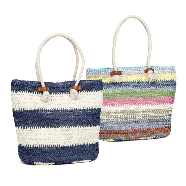Fenner-Fashion Shopper Handtasche Umhängetasche Damenhandtasche Stoffhandtasche Warschau
